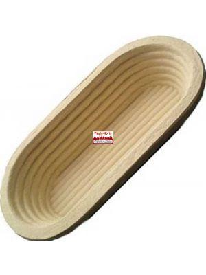Gärform – Brotform lang für 1000 g Teiggewicht, aus Holzschliff