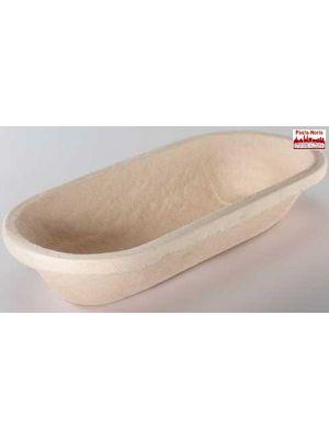Gärform – Brotform lang für 2000 g Teiggewicht, aus Holzschliff