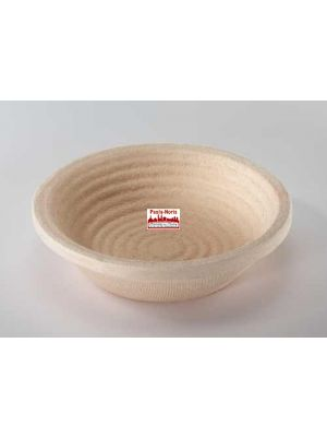 Gärform – Brotform Ø 18,5 cm, Rillenmuster für 750 g