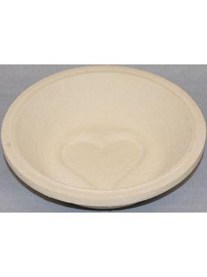 Gärform – Brotform Ø 23 cm, Herz Motiv für 1000 g